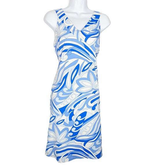 J. McLaughlin Dress catalina cloth Print